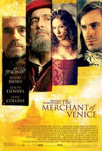 Merchant of Venice Poster, via about.com