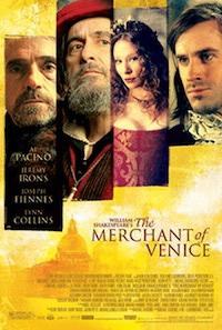 Merchant of Venice Poster, via about.com