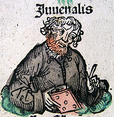 Juvenal, via wikimedia