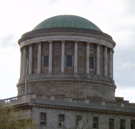 Four Courts dome, detail of an image via wikipedia