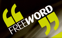 Free Word Centre logo, from their site