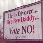 'Hello Divorce, Bye Bye Daddy' poster