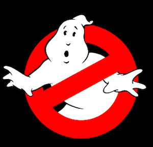 Ghostbusters poster (element) via Wikipedia