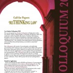 Colloquium call for papers