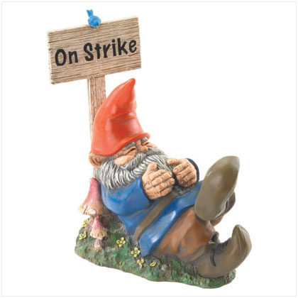 On strike gnome