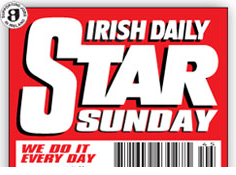 Irish Daily Star on Sunday Masthead