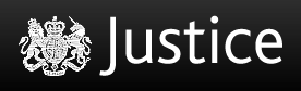 UK Ministry of Justice logo, via their site