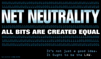 Net Neutrality. All Bits are Created Equal. It's not just a good idea. It ought to be the LAW. via Finest Daily