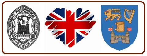Logos for Phil, BNP, TCD