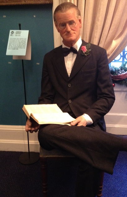 James Joyce at National Wax Museum