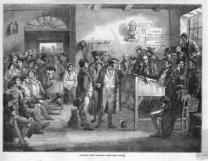 Irish Petty Sessions Court, February 1853
