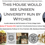This House would see Unseen University Run By Witches!