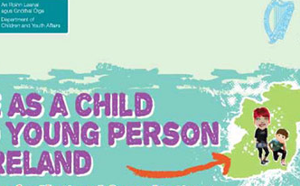 Element of cover of Department of Children and Youth Affairs publication, via the Department's website