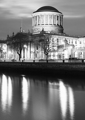 Element of Photo of Four Courts By Night, by MassafelliPhotography.com