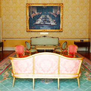 Council of State room, Aras an Uachtrain
