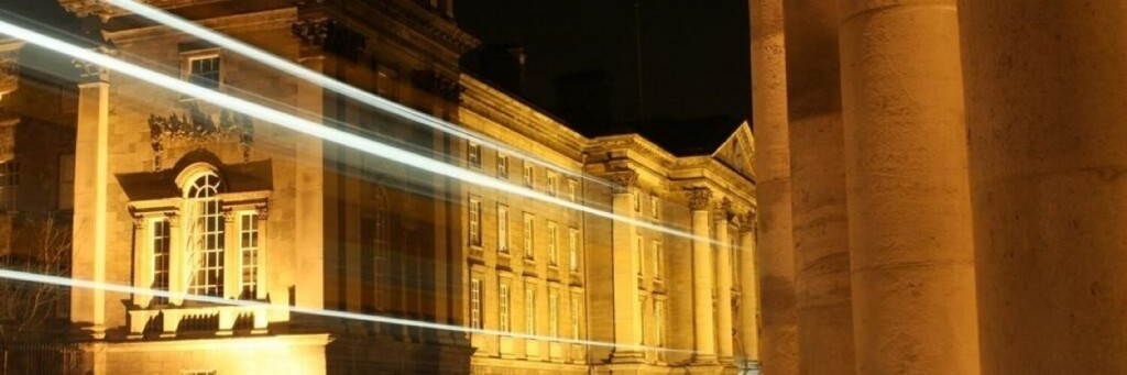 TCD by night