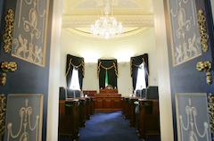 Seanad Entrance, via Oireachtas website