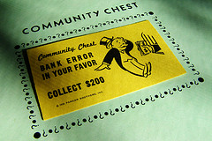 Community Chest Card, photo by Chriss Potter/StockMonkeys.com via Flickr