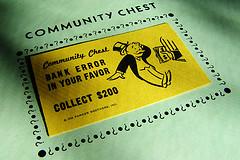 Community Chest Card, photo by Chriss Potter/StockMonkeys.com via Flickr