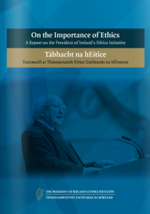 Ethics Report cover