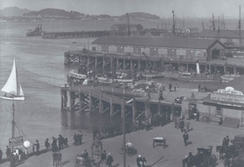 Auckland Waterfront 1905, via flickr
