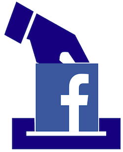 Facebook vote image, elements via https://pixabay.com/en/ballot-election-vote-1294935/ and https://www.facebook.com/facebook