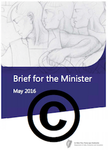 DJEI Brief for Minister