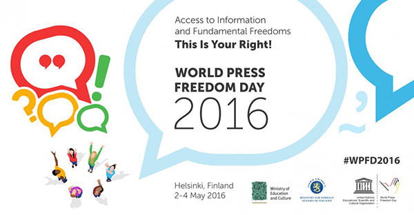 World Press Freedom Day 2016, via UN website