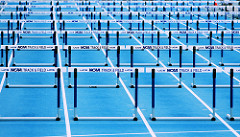 Hurdles via flickr