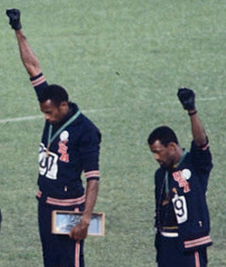 Smith and Carlos, Mexico Olympics, 1968