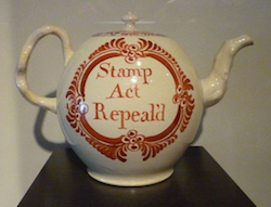 Stamp Act Repealed (via Wikipedia; element)