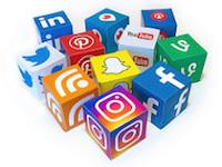 Social Media Mix 3D icons, via Flickr