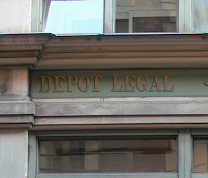 Former Legal Deposit Office, Paris; image via Wikipedia