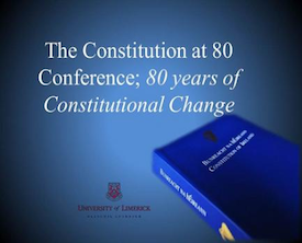 Constitution at 80 conference in UL