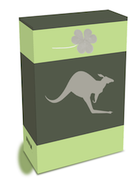 Plain Pack With Shamrock And Kangroo