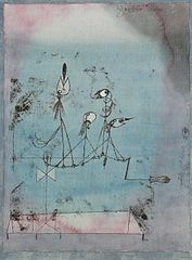Paul Klee The Twittering Machine via Wikipedia