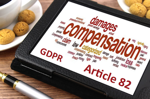 Compensation Article 82 GDPR