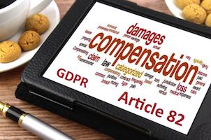 Compensation Article 82 GDPR