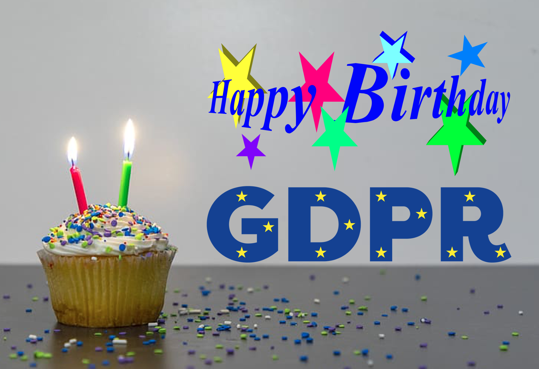 Happy birthday GDPR