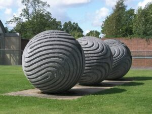 'Inner Compulsion', by Peter Randall-Page, at the Millennium Seed Bank