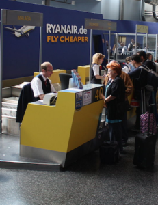 Ryanair Check In, via Wikipedia (element)